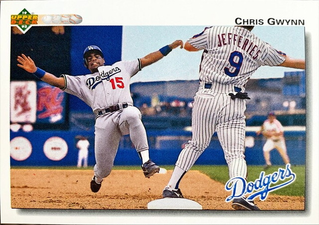 MLBカード 92UPPERDECK Chris Gwynn #689 DODGERS