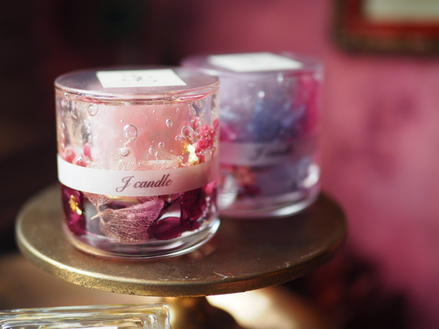 Flower aroma candle 2
