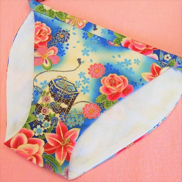 新作♡優美な美しさが開花する Miyabi 空色 フリーサイズ