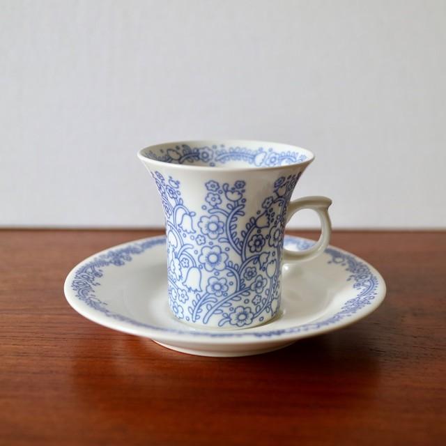 Arabia アラビア / Anna アンナ コーヒーカップ&ソーサー
