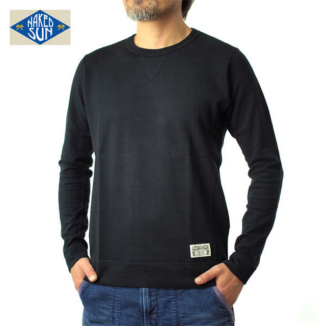 NS002005(MINI-URAKE L/S)BLACK