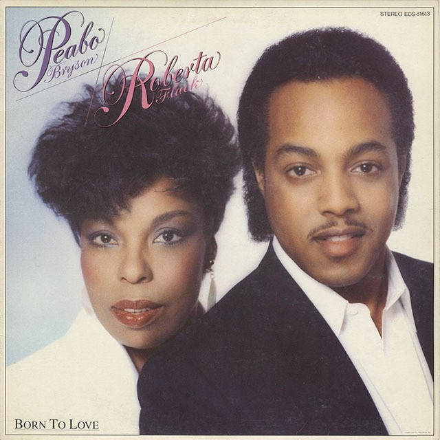 Peabo Bryson & Roberta Flack ‎/ Born To Love (LP)