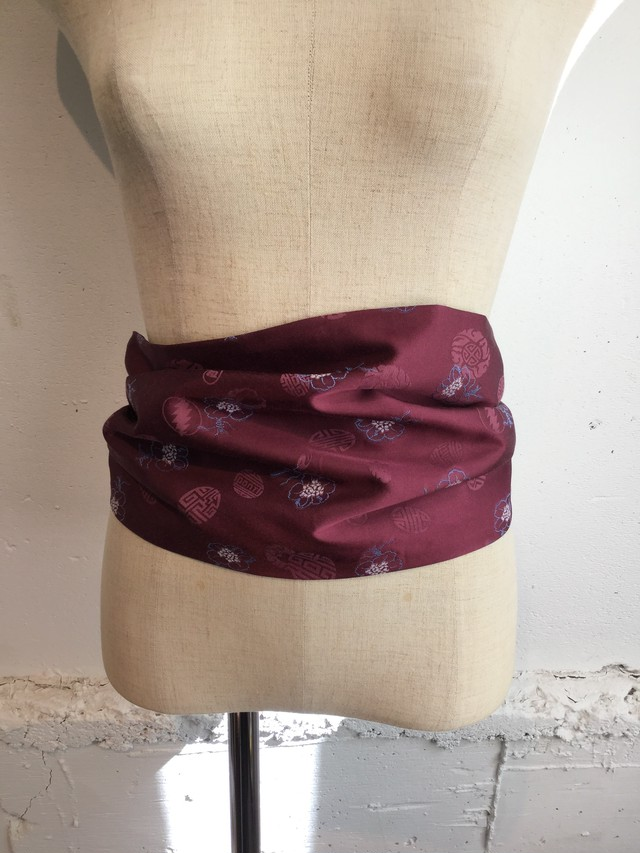 PONTI Cut JQ Cummerbund (GRAPE)