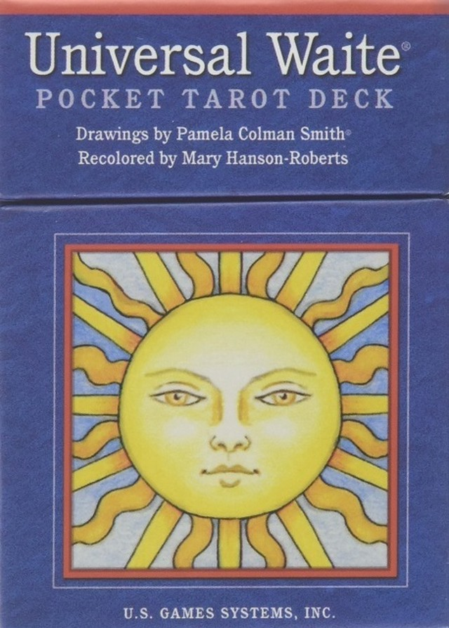 Universal Waite Pocket Tarot Deck (英語)