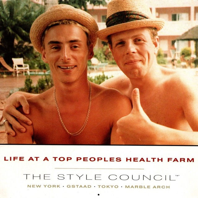 【7inch・英盤】Style Council / Life at a Top Peoples Health Farm