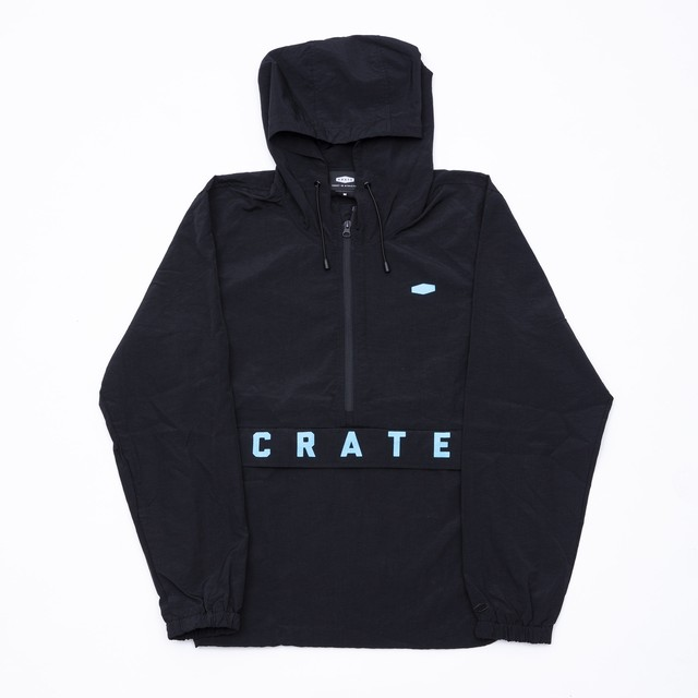 CRATE PASS POINTS ZIP SWEAT WHITE