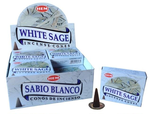 ホワイトセージ コーンタイプ12箱セット