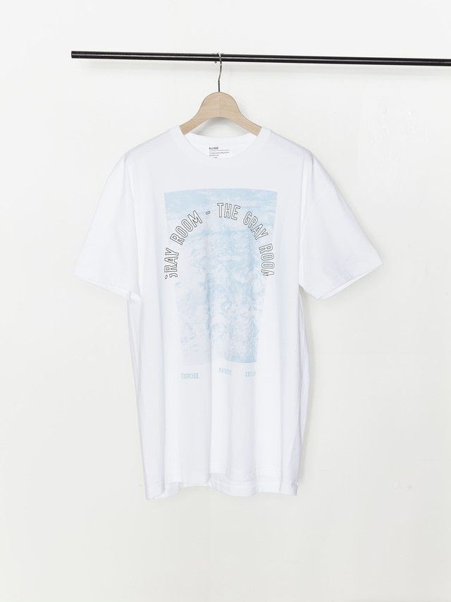 Allege The Gray Room T-Shirt White ALSPT-CT04