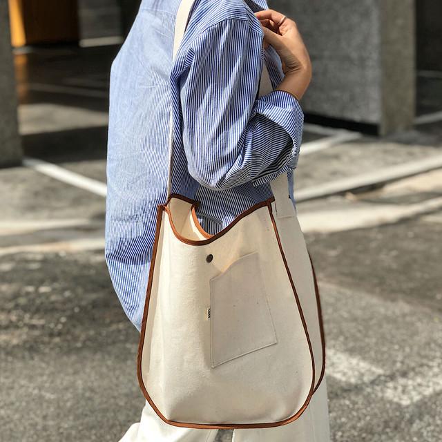 [LUFF] round bag