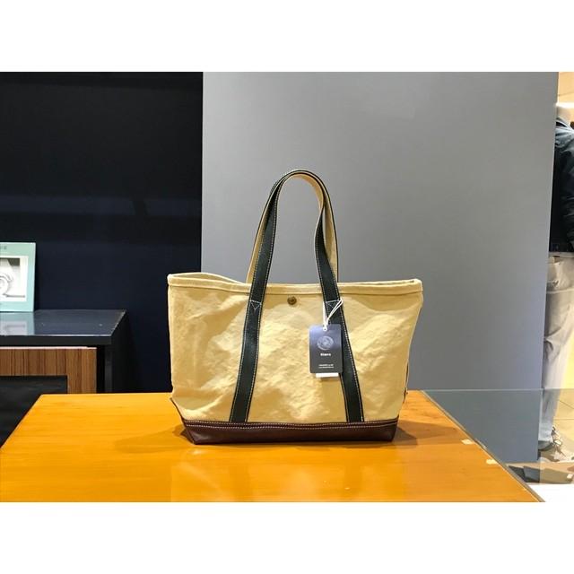 Simva 161-0033 Canvas-Leather Tote Medium Multi Color