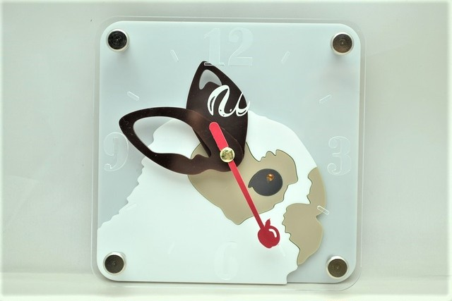 うさぎの時計(ミニ) ブロークン