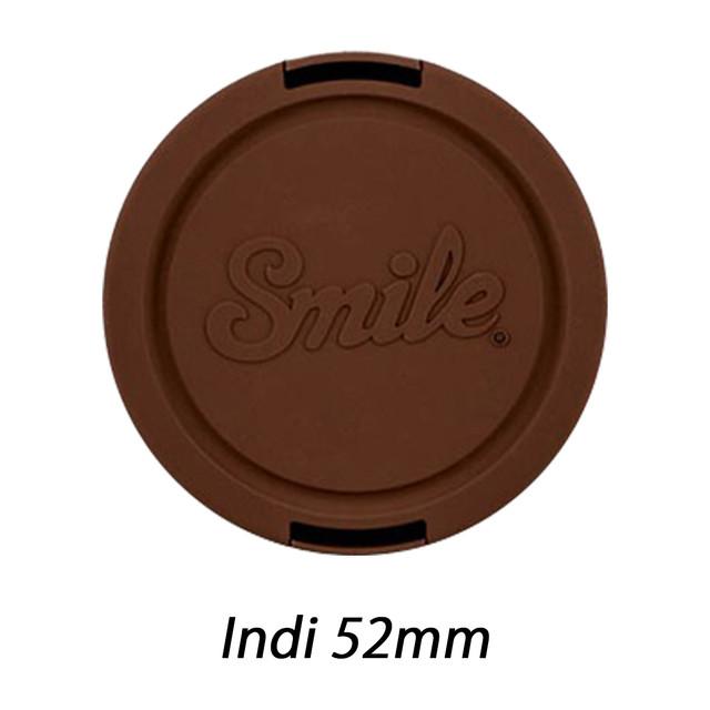 スマイル レンズキャップ Indi 52mm 【Smile lens caps】 sml1705304