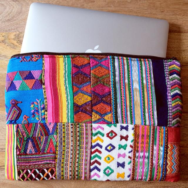 ウィピルのパソコンケース 13inch /295e/ GUATEMALA グアテマラ