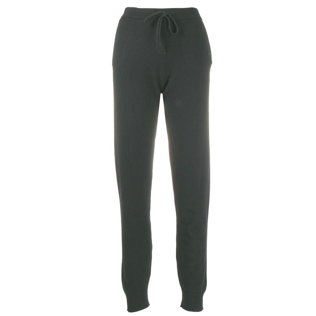 Chinti&Parker  Knit Trouser BLACK