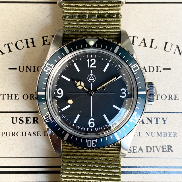 W.MT WATCH SEA DIVER MOLLY U-BOAT (NEW CASE) WMT386-01