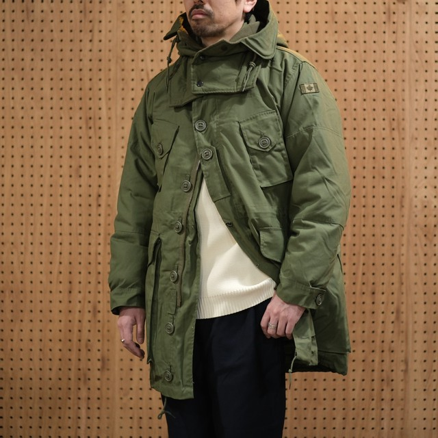【DEADSTOCK】90s-00s CANADIAN ARMY(カナダ軍)PX ARCTIC PARKA (FULL SET) -OLIVE-