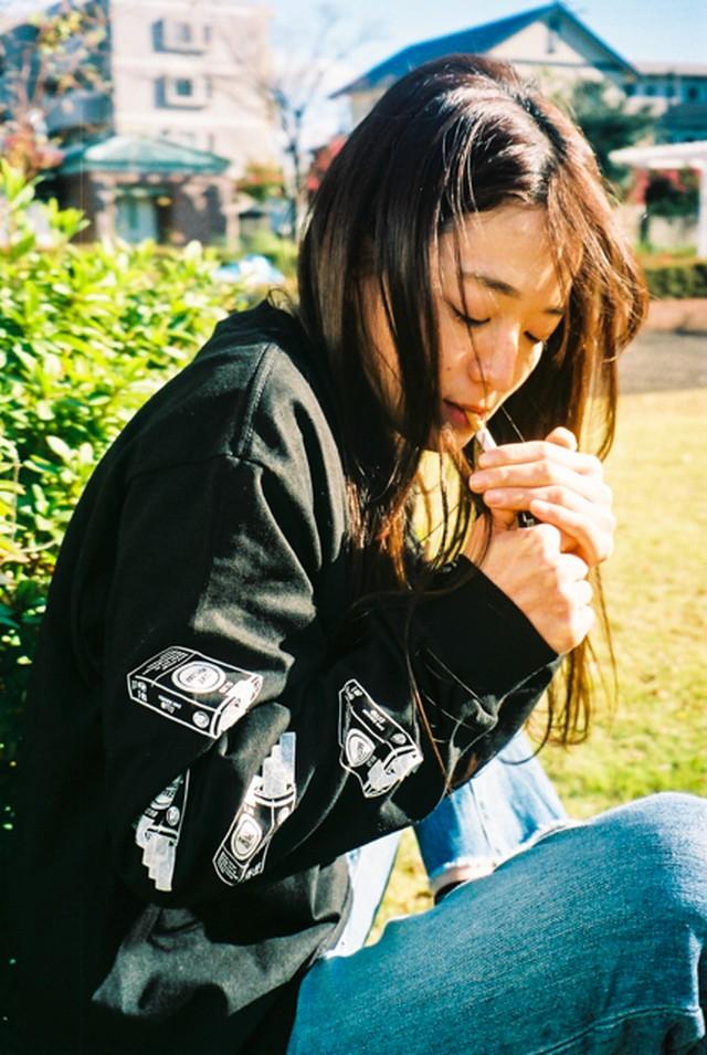 SAKE LIKE Cigarette L/S T-Shirts