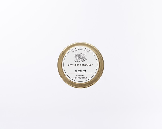 TRAVEL TIN CANDLE / Green Tea