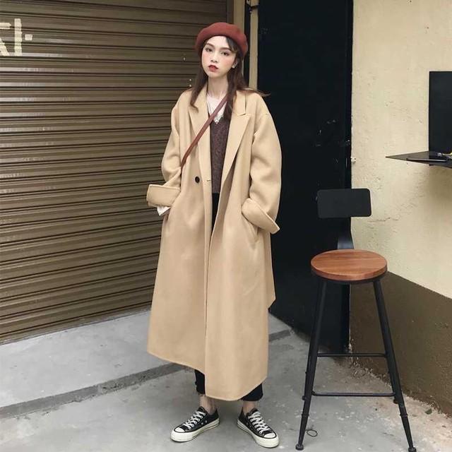 高品質 オーバーサイズ ラシャ ジャケット アウター SHW370501