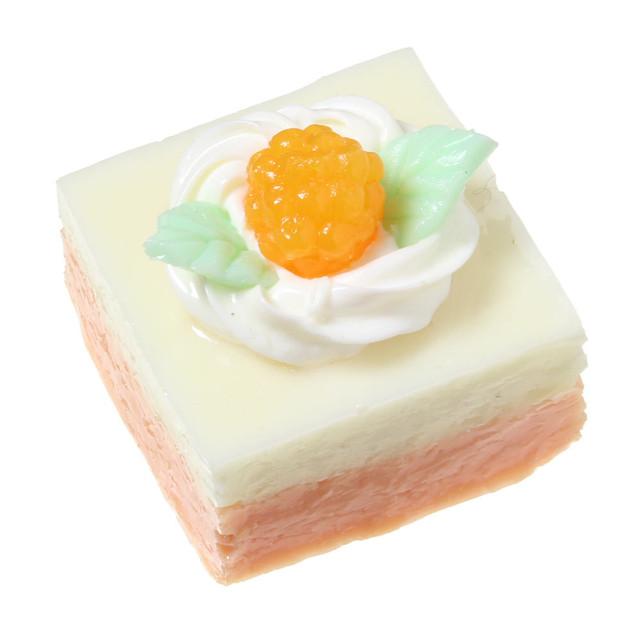 [0095]食品サンプル屋さんのマグネット(オレンジケーキ)【メール便不可】