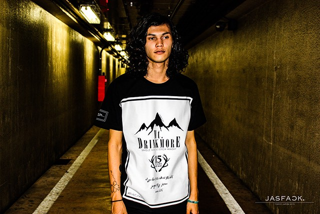 Mt.DRINKMORE Tee (JFK-011) - Black
