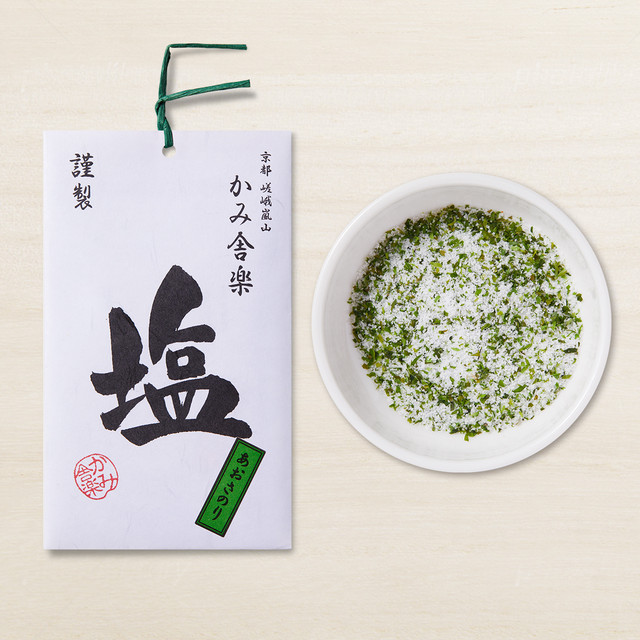あおさのり塩  /  Aosa seaweed salt