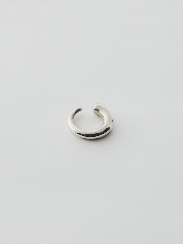 WEISS Asymmetry Ear cuff Silver wei-ecsv-11