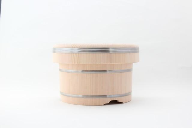 岡田製樽のおひつ(ステンレスタガ 1合)