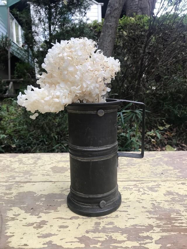 1950s フランスアンティーク ビアカップ 花器 花瓶