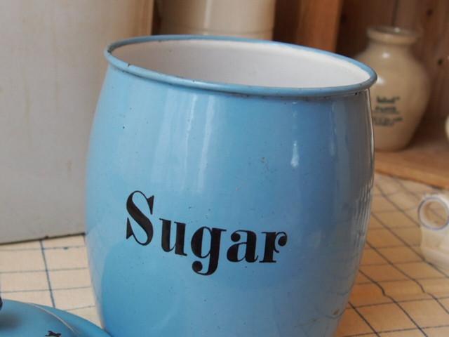 イギリスアンティーク キャニスター(Sugar)