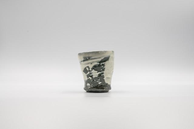 ◆受注生産◆刷毛目湯呑(小) 三浦繁久作
