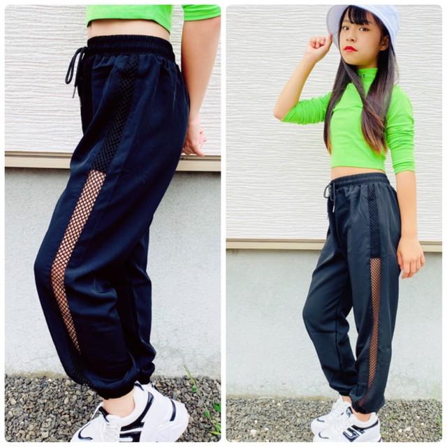 【Yuma×dance】 S〜5XL ★ ボトムス パンツ シンプルデザイン メッシュ素材