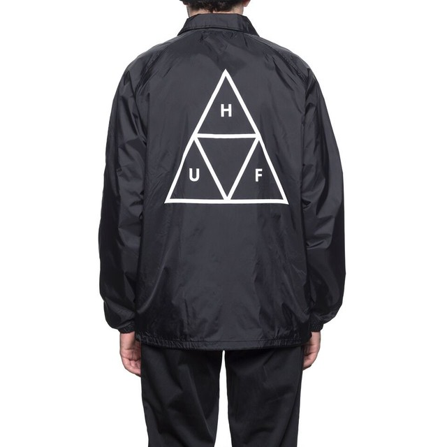 TRIPLE TRIANGLE COACHS JACKET BLACK