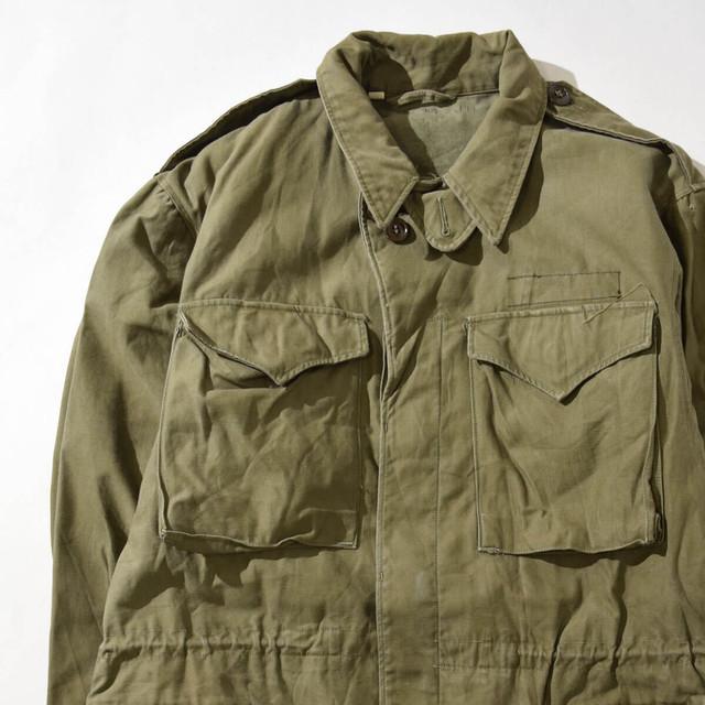 【Lサイズ】MILITARY ミリタリー FIELD JACKET フィールドジャケット OLIVE オリーブ 38L 400610191271