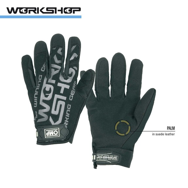 NB/1886 GLOVES WORKSHOP BLACK