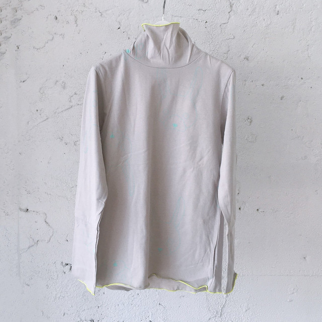 HIGH NECK L/S TEE / S - L