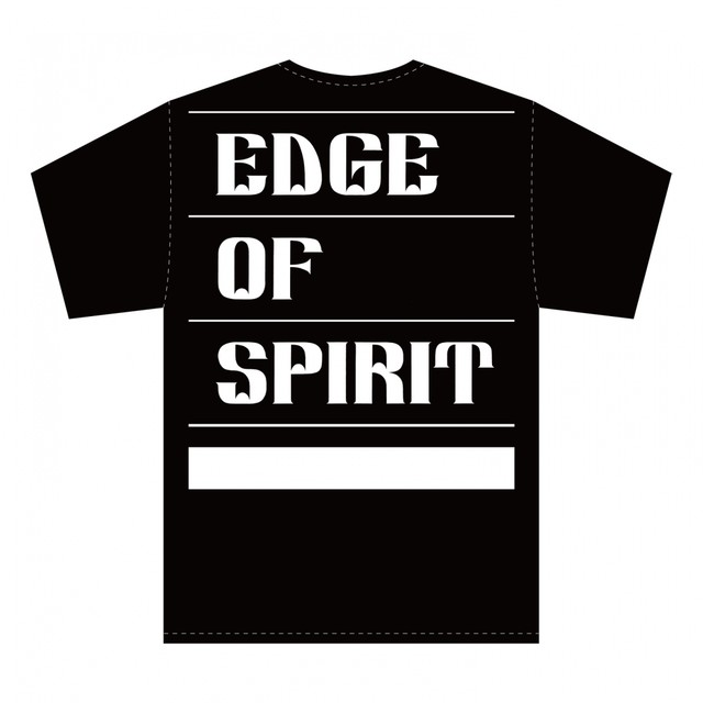 "EDGE OF SPIRIT ""QP"" S/S Tee [BLACK]"