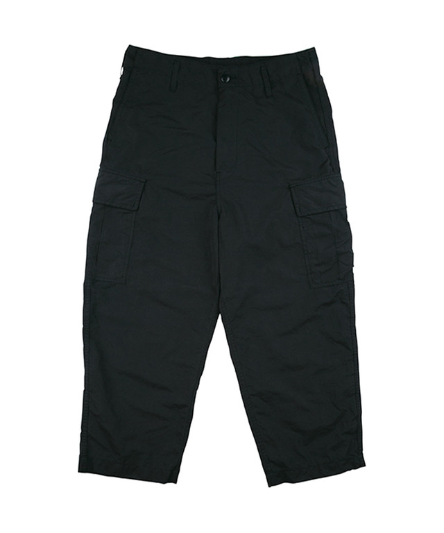 PORTER CLASSIC WEATHER CARGO PANTS Black PC-026-1309-10