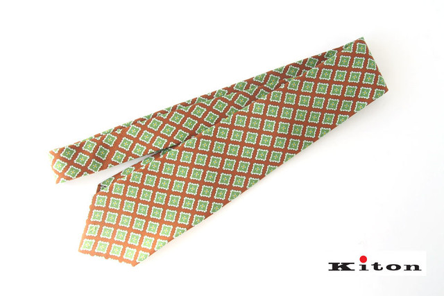 【Sold Out】タイユアタイ|TIE YOUR TIE|シルクネクタイ(セッテピエゲ)|ネクタイ|小紋柄|ブルー