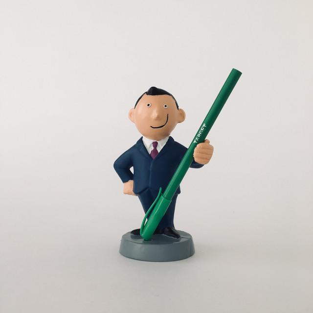 ペンスタンド ジェントルマン ネイビー Gentleman Pen Stand Navy
