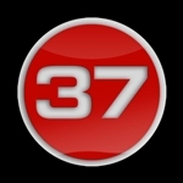 ゴーバッジ(3D)(LC0113 - 3D 37 RED W) - メイン画像