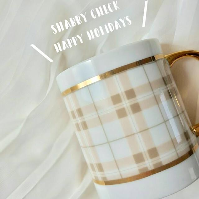 シャビーチェック【happy holidays】