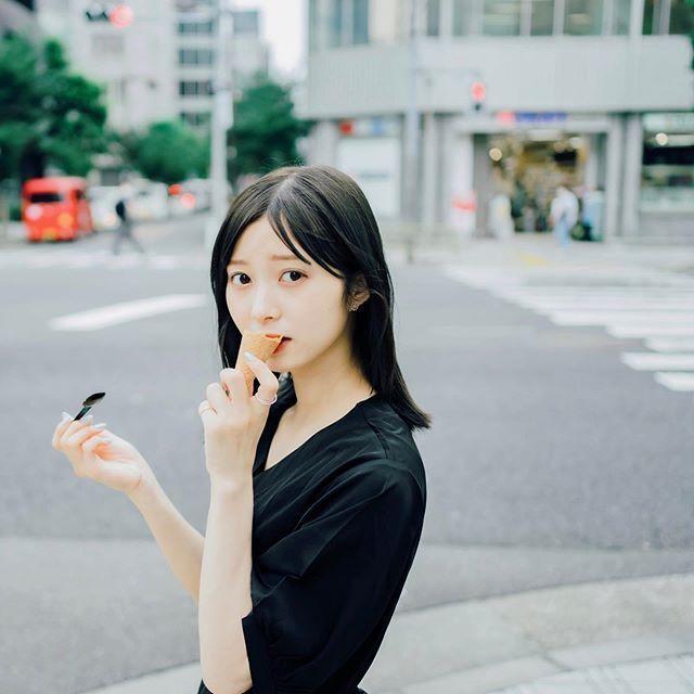 「めざましテレビ」イマドキガールにも出ている!松川星様着用 大人可愛い♡レトロブラックワンピース B0088