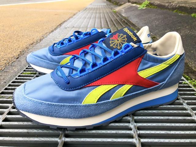 REEBOK AZTEC OG (SLATE/BLUE/BLUE/GREEN/RED)
