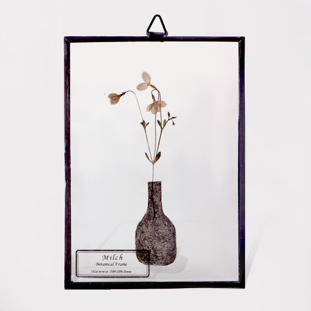 Botanical Frame S034(A_Black)