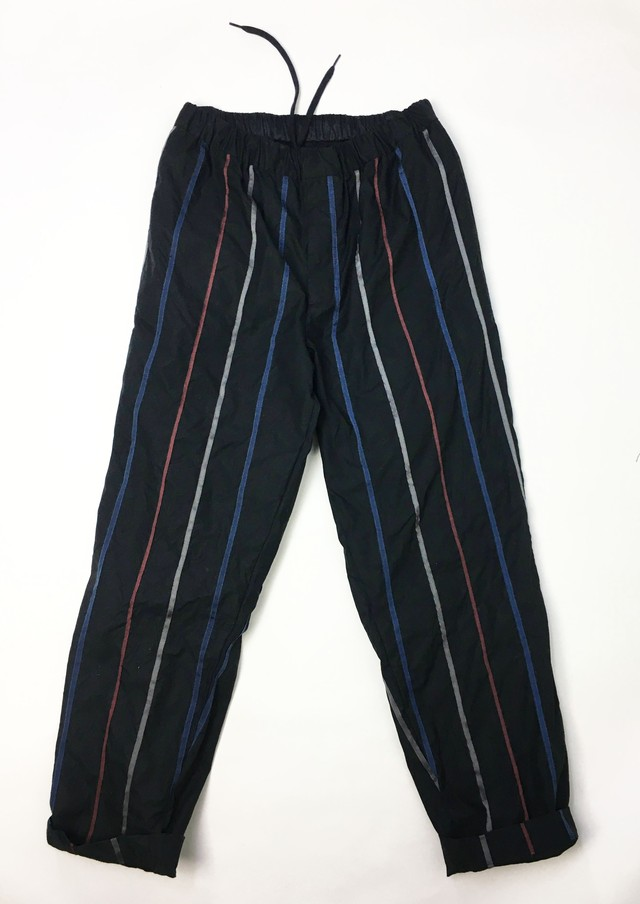 3-212-912 Regimental Stripe easy PT [BLACK]