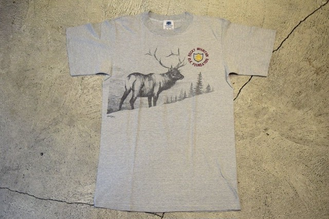 USED Rocky Mountain T-shirt 90s made in USA T0307