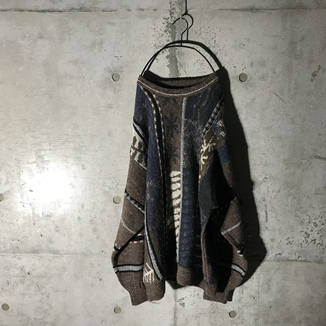 [used]vertical pattern design knit