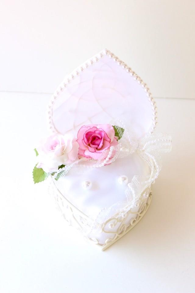 【受注制作】ピンクと薄ピンクのリングピロー