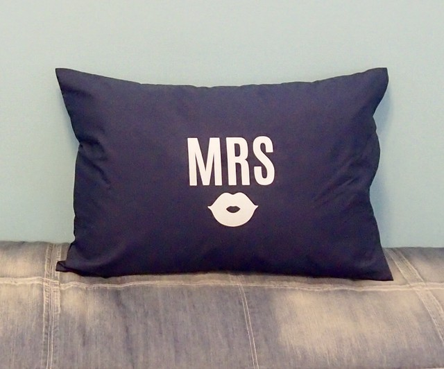MRS PILLOW CASE [NAVY]